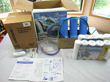 Five 5 Stage Reverse Osmosis System by Premier Manufactured Systems Filters NOS