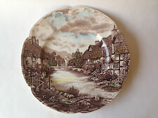 "JOHNSON BROTHERS OLDE ENGLISH COUNTRY SIDE 10"" PLATE"