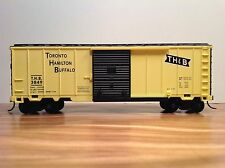 HO Scale Toronto Hamilton Buffalo 40' Freight Train Box Car THB 3849