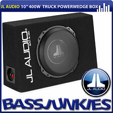 "JL Audio CS110TG-TW3 Power Wedge 10"" 400W Single Sealed Car Sub Woofer Bass Box"
