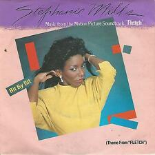 "STEPHANIE MILLS "" BIT BY BIT(THEME FROM FLETCH) / EXOTIC SKATES"" 7"" ITALY PRESS"