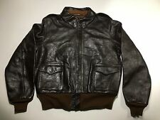 The Real Mccoy's Rough Wear A-2 leather jacket 44 large