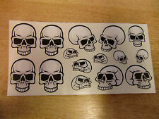 Skull sticker/ decal set - mongoose hoffman BMX