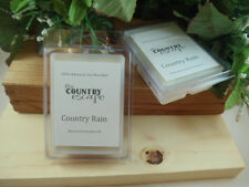 Country Rain Scented Soy Wax Clamshell Melt Tart- 2wks of Fragrance