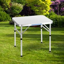 Adjustable Height Folding Table In/Outdoor Picnic Party Dining Camping Table USA