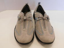 PRIVO LADIES GRAY SUEDE & MESH ATHLETIC SHOES SIZE 6 M
