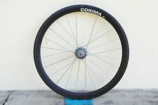 Ruota posteriore in carbonio CORIMA carbon wheel rear with MICHE 9v sprocket