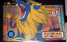 DRAGON BALL GT Z DBZ HONDAN PART 27 CARDDASS DP CARD CARTE 68 BANDAI JAPAN NEUF