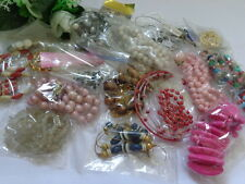 BEADS Necklace Bracelet JEWELRY LOT for Repairs Parts Arts & Crafts Great LOT A