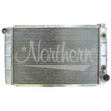 """Chevy GM Aluminum Radiator 16"""" x 31"""" w/ Transmission Oil Cooler Northern 209629"""