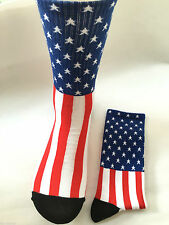 American Flag Crossfit Socks Elite Crew Sport NEW Liberty USA Seller