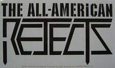 ALL AMERICAN REJECTS AUFKLEBER / STICKER # 2 WETTERFEST