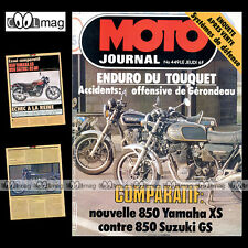 MOTO JOURNAL N°449 SERGE BACOU YAMAHA XS 850 ENDURO DU TOUQUET COTTON 250 1980