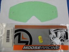 BIN11:D 06-96 15-34-10 MOOSE RACING REPLACEMENT LENS CLEAR FOR OAKLEY PROVEN
