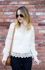 AUTHENTIC Self Portrait Lace Top Small