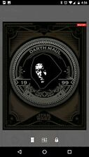 Topps - Star Wars Card Trader - Darth Maul - Mint press - Coin - Black - 1/100