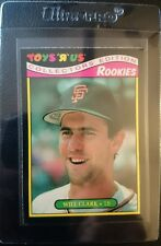 1987 TOYS R US ROOKIES #7 WILL CLARK ROOKIE CARD RC SAN FRANCISCO GIANTGEM MINT
