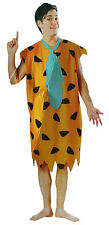 Adult Mens Fred Flintstone Costume Set One Size Cosplay Halloween Outfit New