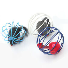 1Pcs Fun Gift Play Playing Toys False Mouse in Rat Cage Ball For Pet Cat Kitten