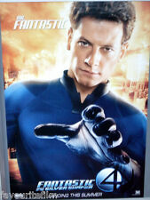 Cinema Poster: FANTASTIC 4 RISE OF THE SILVER SURFER 2007 Mr Fantastic One Sheet
