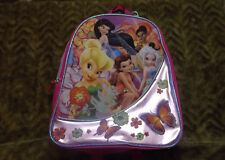 New Disney Tinkerbell Fairies BFFs mini back pack book bag school supplies