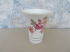 "Schumann Arzberg Germany Wild Rose Vase 4"" Made Bavaria Discontinued"
