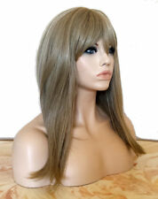 Forever Young Perfect Silhouette Heat Safe Wig (Ash Blonde) Long Straight Bangs