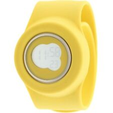 $110 Easy Slap On Fashion Cloud 9 Digital  Watch yellow Battery not included