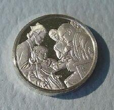 Franklin Mint Sterling Silver Mini-Ingot: 1955 Polio Vaccine Declared Effective