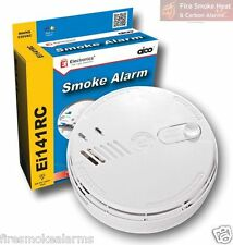 AICO Professional Mains 9v Battery Backup IONISATION FIRE SMOKE ALARM - Ei141RC