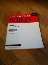 1991 Central Point PC Tools Version 7 For DOS Book Remote Access File Transfer