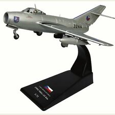 MiG-15 bis - 1954 Czechoslovakia Fighter Plane WWII Diecast Model 1/72 No 37