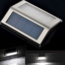 New Outdoor Solar Power Light Garden Pathway Stairs Lamp