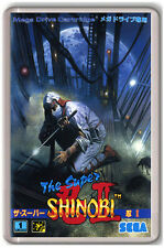 THE SUPER SHINOBI 2 SEGA MEGA DRIVE FRIDGE MAGNET IMAN NEVERA
