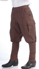 SteamPunk Cosplay Victorian Brown Men's Pants, Adult Costume NEW SEALED UNWORN