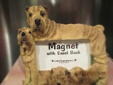 Shar Pei ~ Magnet Picture Frame With Easel Back # 9