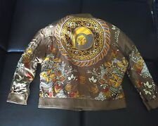 Rare Gianni Versace Leather/Silk Reversible Jacket