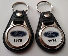 1976 FORD KEYCHAIN 2 PACK CLASSIC TRUCK AND CAR  LOGO