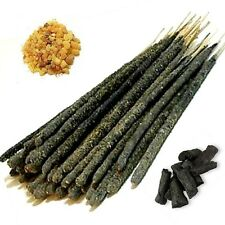 FRANKINCENSE & MYRRH + COPAL INCENSE RESIN STICKS chemical free, handrolled UK