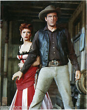 Gunsmoke Color Photograph Matt Dillon Protecting Miss Kitty Gunsmoke TV Show WOW