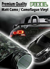 2 x A4 Sheets 'Pixel' Camouflage / Camo Air Drain Vinyl - Car Wrap / Sticker