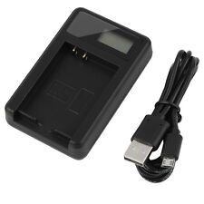 Quality Camera battery charger DMW-BCG10E & USB CABLE PANASONIC DMC-ZX1 ZX3 3D1