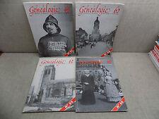 Généalogie 62 Année complète 1998 Revue Association Généalogique PAS-DE-CALAIS