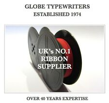 1 x UNDERWOOD 2 *BLACK/RED* TOP QUALITY *10M* TYPEWRITER RIBBON TWIN SPOOL *R/W*