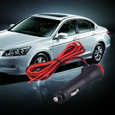 12V 24V Male Car Cigarette Lighter Socket Plug Connector On Off Switch 1.5m HR