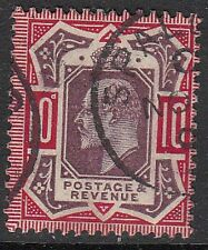 254b 10d Dull Purple & Carmine  M43(1) in VFU with attractive dated Spalding CDS