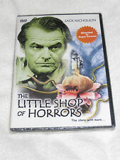 The Little Shop Of Horrors: The Story With More.. (DVD, B&W) Jack Nicholson  NEW