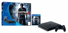 Sony PlayStation 4 Slim UNCHARTED:The Nathan Drake Collection Bundle 500GB Black