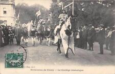 CPA 71 MILLENAIRE DE CLUNY CORTEGE HISTORIQUE