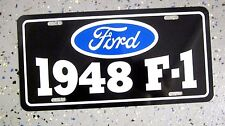 1948 Ford F-1 Pickup Truck License plate tag 48 F1 flathead v8  hot rod classic